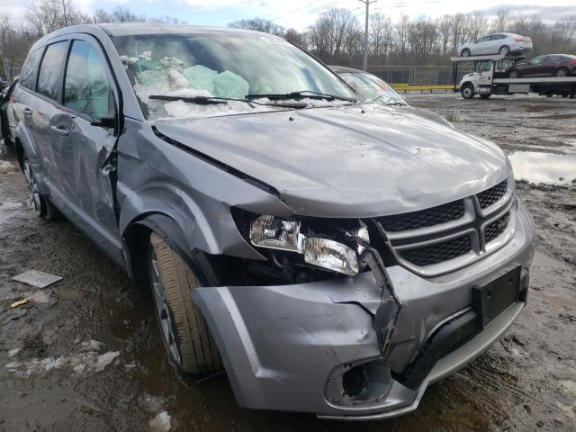 Salvage cars for sale from Copart Waldorf, MD: 2018 Dodge Journey GT