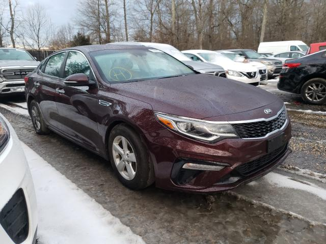Salvage cars for sale from Copart Waldorf, MD: 2019 KIA Optima LX