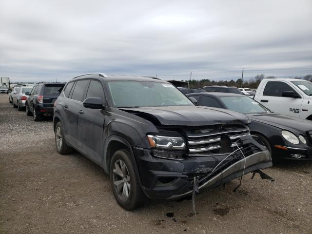 Salvage cars for sale from Copart Houston, TX: 2018 Volkswagen Atlas SE