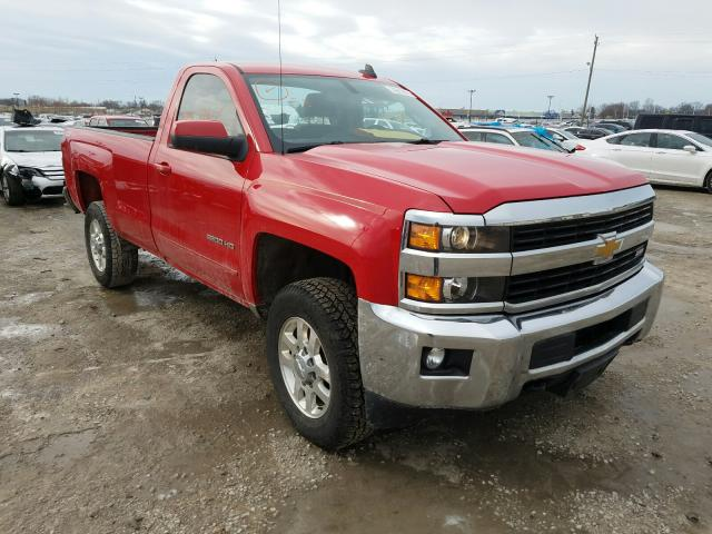 Salvage cars for sale at Indianapolis, IN auction: 2015 Chevrolet Silverado