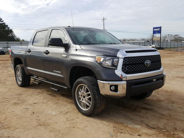 Salvage cars for sale from Copart Newton, AL: 2019 Toyota Tundra CRE