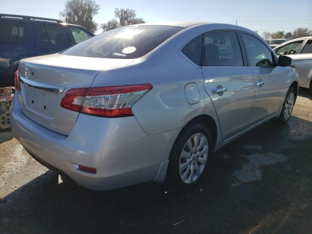 2015 NISSAN SENTRA S - Right Rear View
