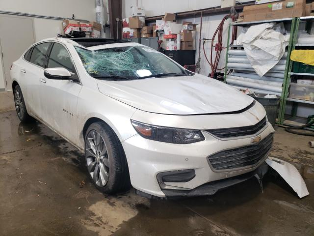Vehiculos salvage en venta de Copart Nisku, AB: 2016 Chevrolet Malibu PRE