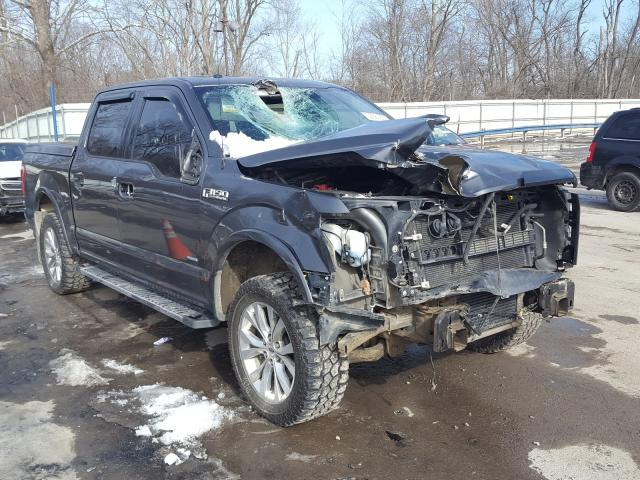 Ford salvage cars for sale: 2015 Ford F150 Super