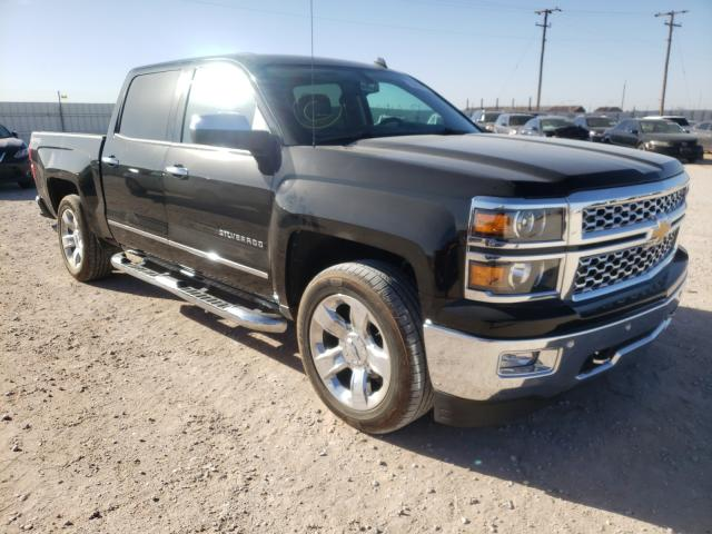 Salvage cars for sale from Copart Andrews, TX: 2014 Chevrolet Silverado