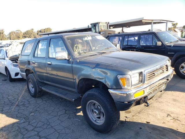 Toyota salvage cars for sale: 1990 Toyota 4runner VN