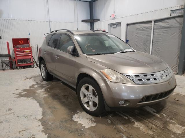 Nissan Murano salvage cars for sale: 2003 Nissan Murano