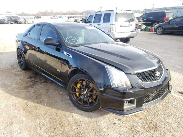 Salvage cars for sale from Copart Wichita, KS: 2013 Cadillac CTS-V