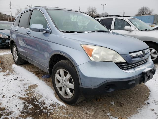 Salvage cars for sale from Copart Bridgeton, MO: 2008 Honda CR-V EXL