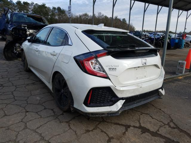 2018 HONDA CIVIC EX - Right Front View
