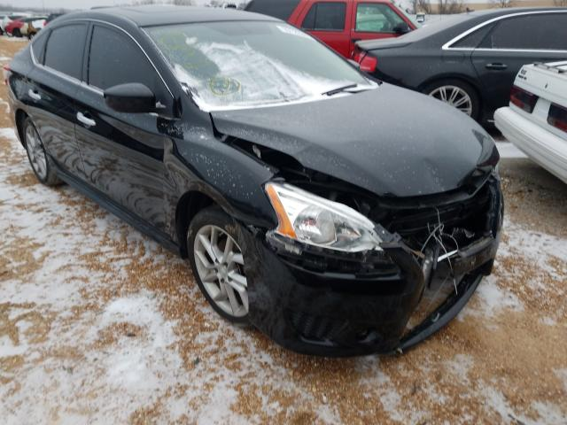 Salvage cars for sale from Copart Bridgeton, MO: 2014 Nissan Sentra S