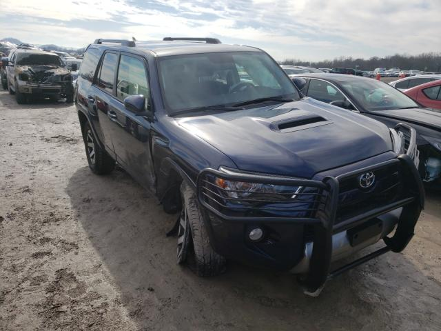 Salvage cars for sale from Copart Madisonville, TN: 2019 Toyota 4runner SR