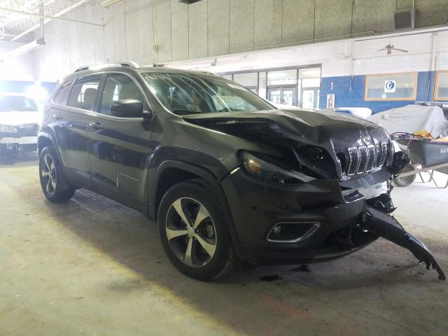 Salvage cars for sale from Copart Indianapolis, IN: 2019 Jeep Cherokee L