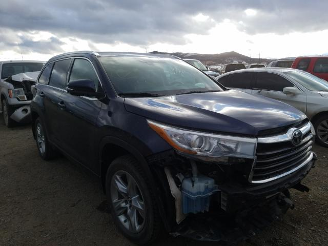 Salvage cars for sale from Copart Helena, MT: 2016 Toyota Highlander