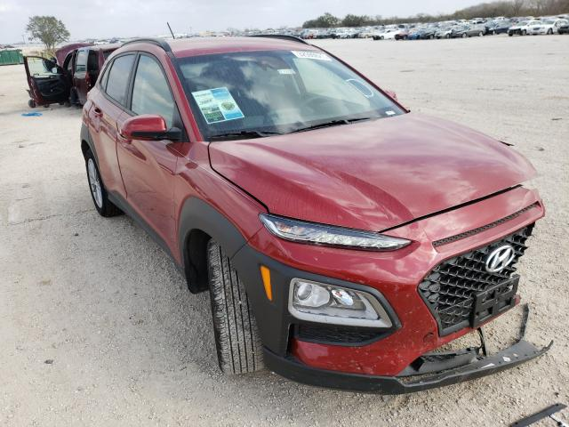 Salvage cars for sale from Copart San Antonio, TX: 2021 Hyundai Kona SEL