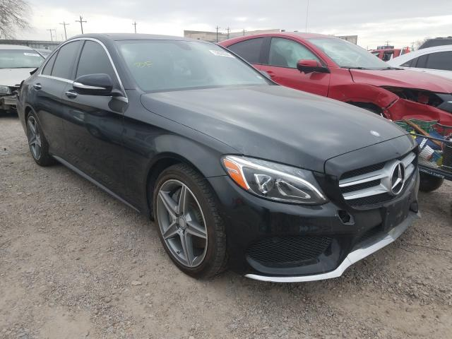 Salvage cars for sale from Copart Mercedes, TX: 2015 Mercedes-Benz C300