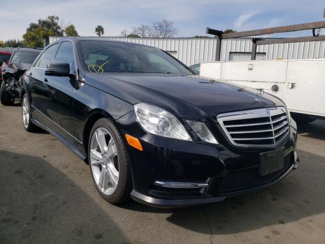Salvage cars for sale from Copart Vallejo, CA: 2013 Mercedes-Benz E 350