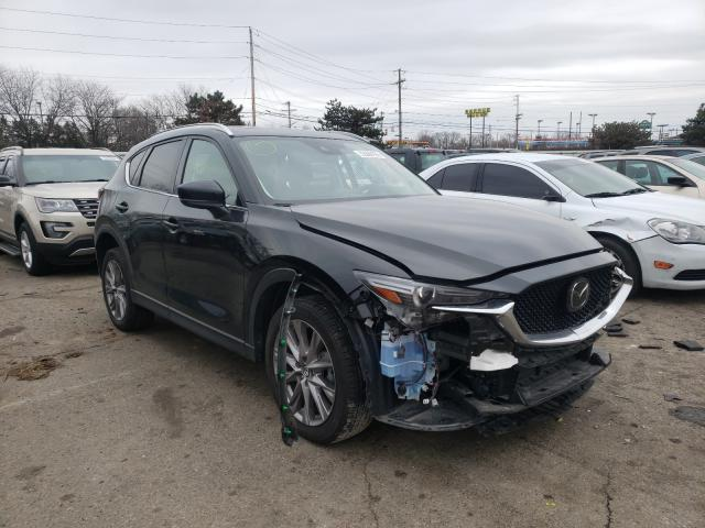 Salvage cars for sale from Copart Moraine, OH: 2019 Mazda CX-5 Grand Touring