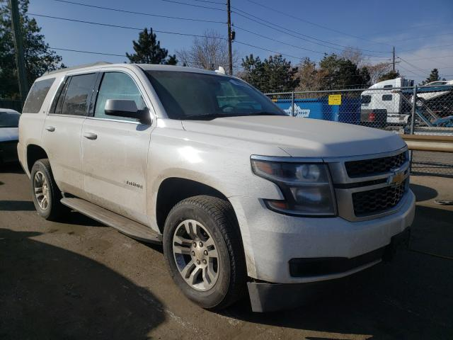 Salvage cars for sale from Copart Denver, CO: 2020 Chevrolet Tahoe K150