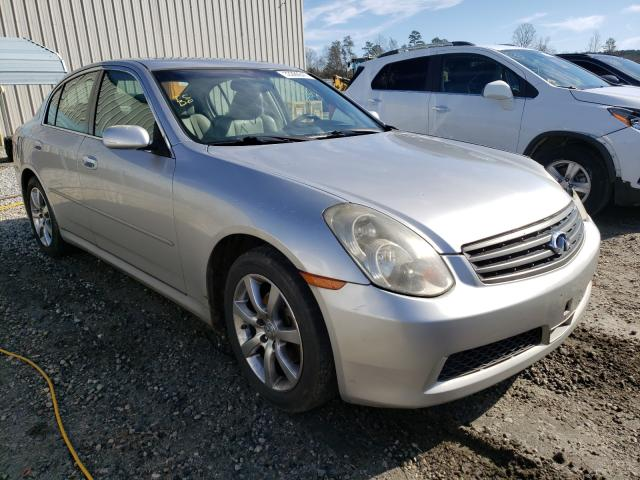Salvage cars for sale from Copart Spartanburg, SC: 2005 Infiniti G35