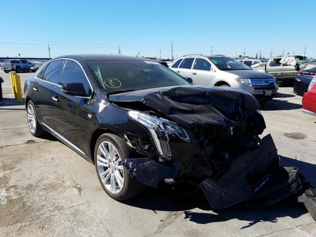 Salvage cars for sale from Copart Sun Valley, CA: 2018 Cadillac XTS Luxury