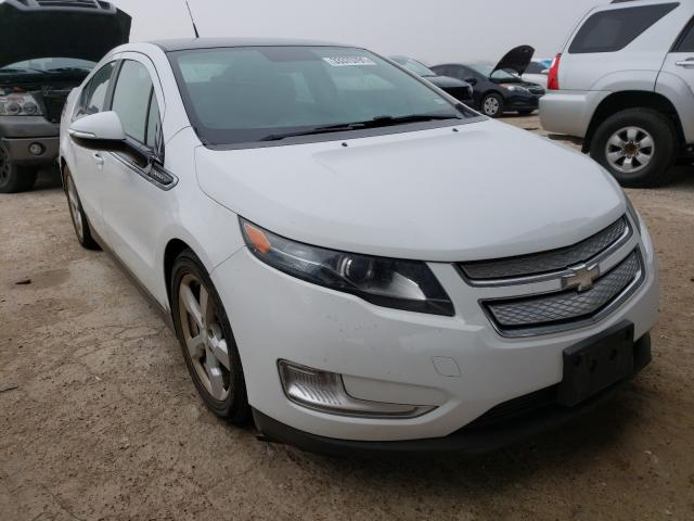 Salvage cars for sale from Copart Temple, TX: 2012 Chevrolet Volt