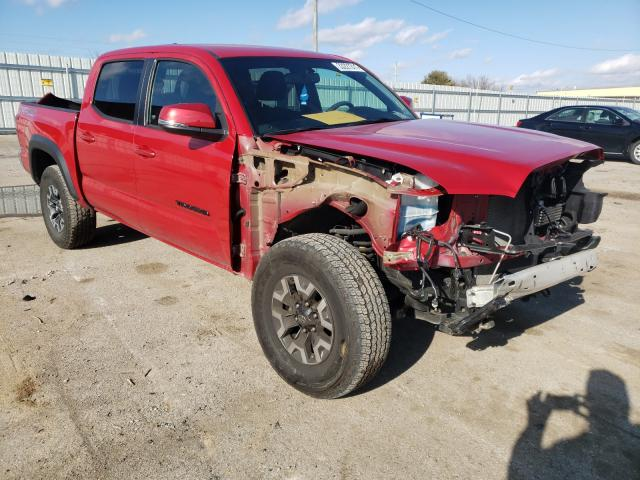 Salvage cars for sale from Copart Lexington, KY: 2017 Toyota Tacoma DOU