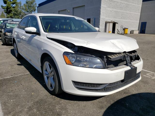 Salvage cars for sale from Copart Rancho Cucamonga, CA: 2013 Volkswagen Passat SE