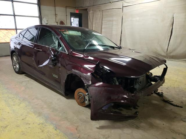 Salvage 2017 FORD FUSION - Small image. Lot 33287371