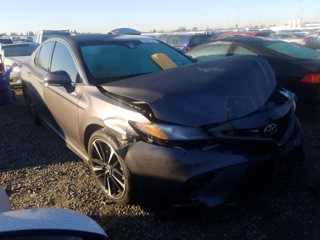 Salvage cars for sale from Copart Sacramento, CA: 2018 Toyota Camry XSE