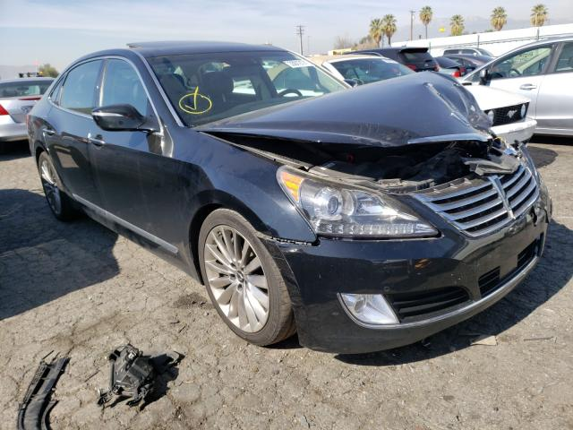 Salvage cars for sale from Copart Colton, CA: 2014 Hyundai Equus Sign