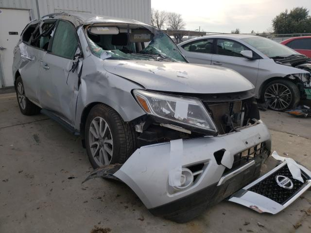 Nissan salvage cars for sale: 2014 Nissan Pathfinder