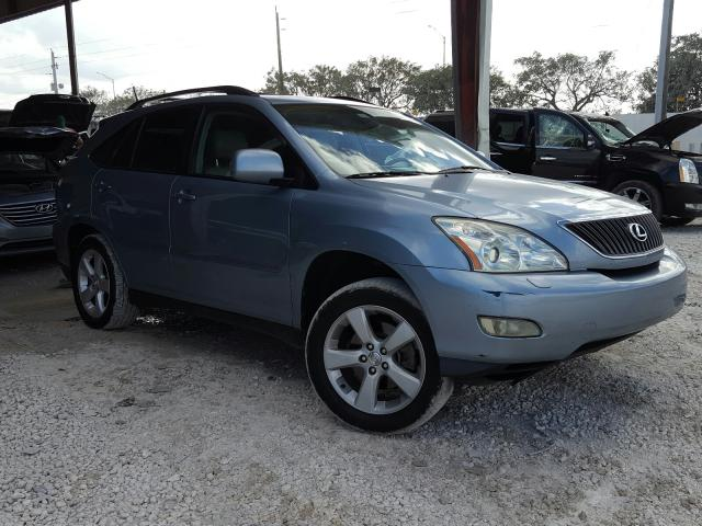 Salvage cars for sale from Copart Homestead, FL: 2004 Lexus RX 330