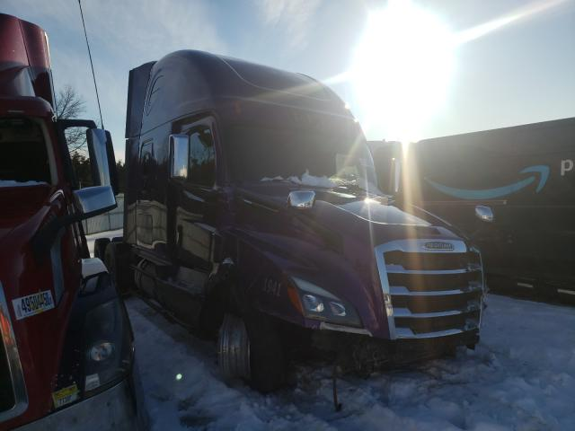 Salvage cars for sale from Copart Pennsburg, PA: 2019 Freightliner Cascadia 1