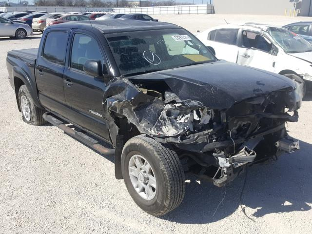 Salvage cars for sale from Copart San Antonio, TX: 2013 Toyota Tacoma DOU