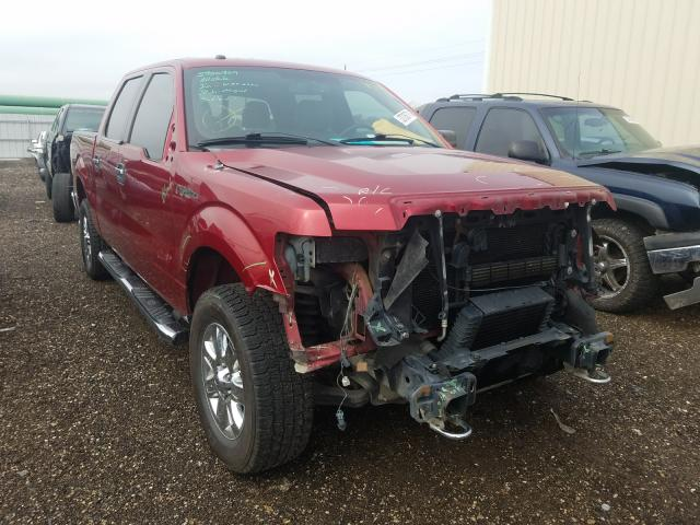Salvage cars for sale from Copart Houston, TX: 2014 Ford F150 Super