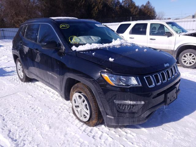 Salvage cars for sale from Copart London, ON: 2021 Jeep Compass SP