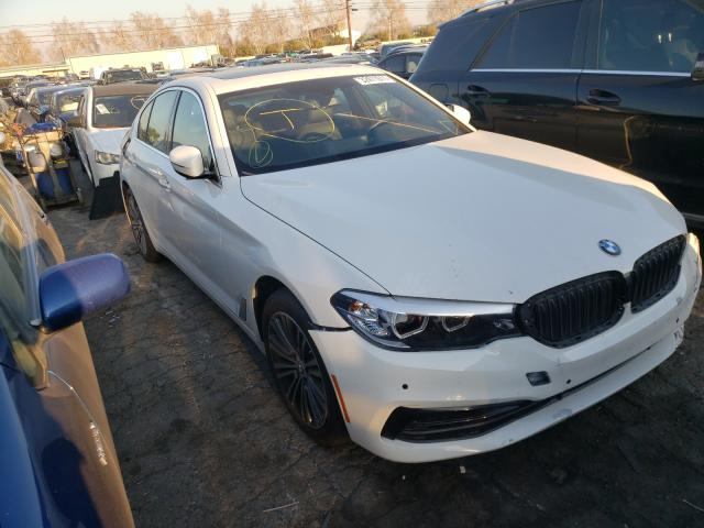 Salvage cars for sale from Copart Colton, CA: 2018 BMW 540 I