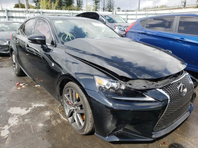 Salvage cars for sale from Copart Miami, FL: 2016 Lexus IS 200T