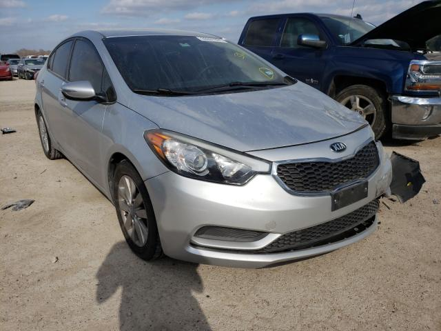 Salvage cars for sale from Copart Temple, TX: 2015 KIA Forte LX