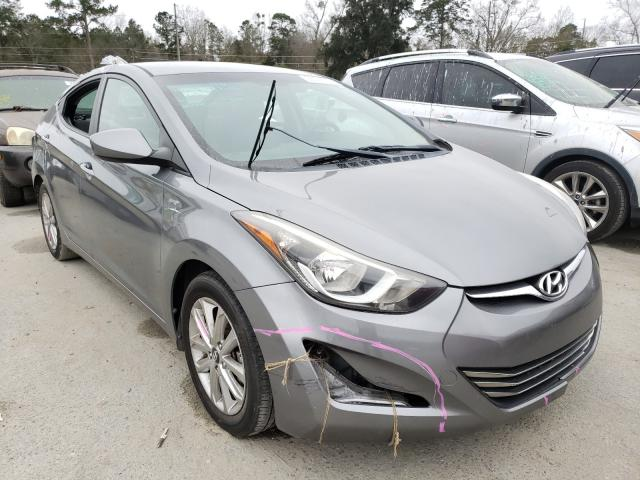 2016 Hyundai Elantra SE en venta en Savannah, GA