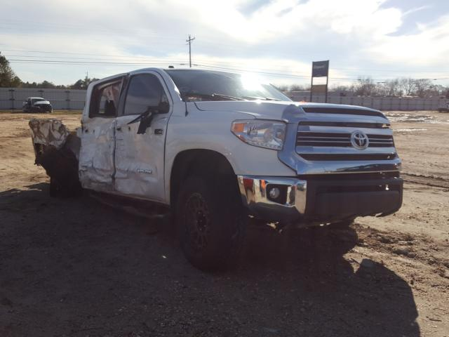 Salvage cars for sale from Copart Newton, AL: 2016 Toyota Tundra CRE