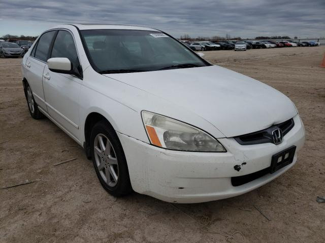 Salvage cars for sale from Copart Temple, TX: 2003 Honda Accord