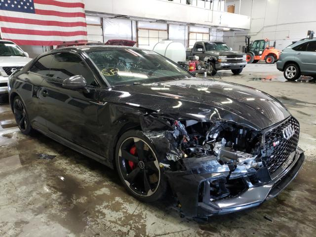 Salvage cars for sale at Littleton, CO auction: 2019 Audi RS5