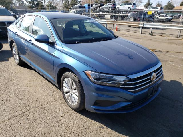 Salvage cars for sale from Copart Denver, CO: 2019 Volkswagen Jetta S