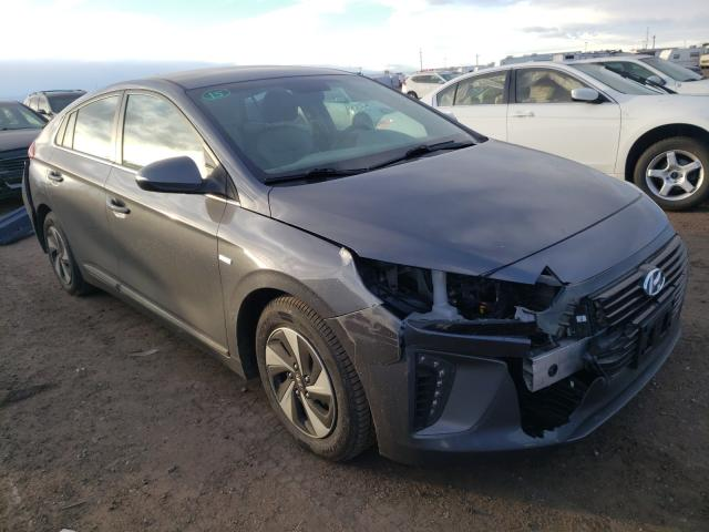 Hyundai salvage cars for sale: 2018 Hyundai Ioniq SEL