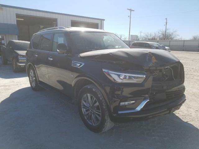 Salvage cars for sale from Copart Abilene, TX: 2018 Infiniti QX80 Base
