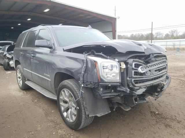 Salvage cars for sale from Copart Houston, TX: 2016 GMC Yukon SLT