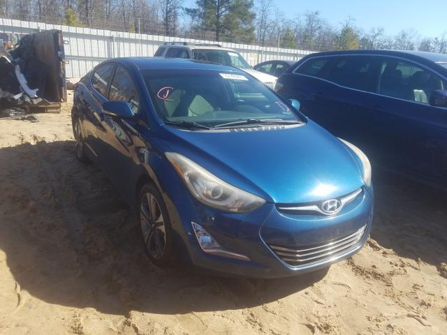 Salvage cars for sale from Copart Gaston, SC: 2014 Hyundai Elantra SE
