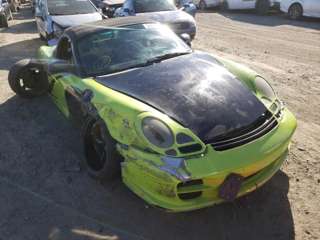 Salvage cars for sale from Copart Los Angeles, CA: 2001 Porsche Boxster